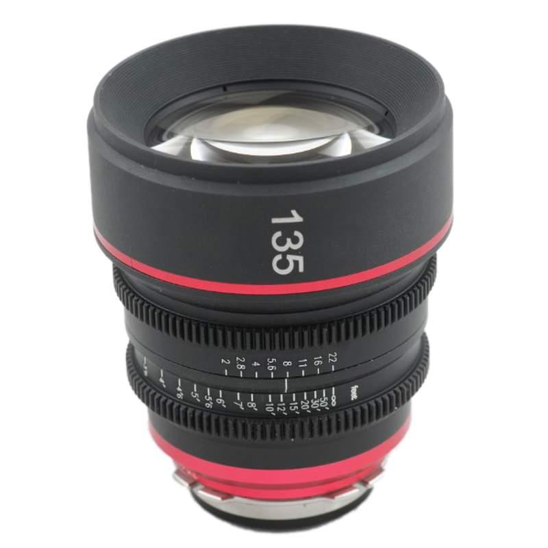 G L  Optics - Canon FD 135mm Lens - rentcinemaglass com